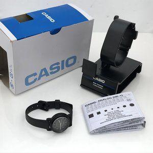 Casio Women Watch Black Tone Analog Wrist Watch WR